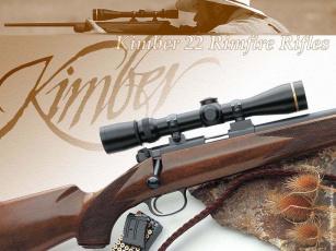 обоя kimber, rifle, оружие, винтовки, прицеломприцелы