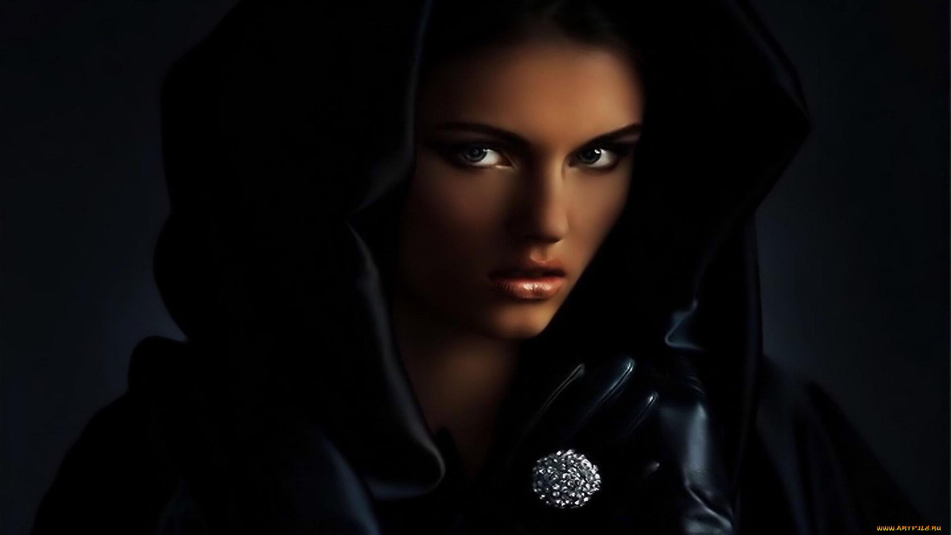 девушка лицо перчатка girl face glove анонимно