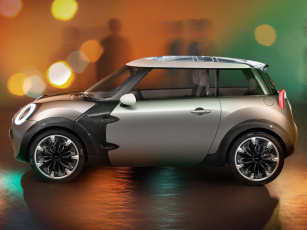 обоя mini rocketman concept 2011, автомобили, mini, rocketman, concept, 2011