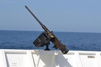 обоя оружие, пулемёты, море, пулемёт, станковый, браунинг, борт, m2hb
