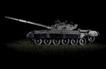 обоя техника, военная техника, танк, ночь