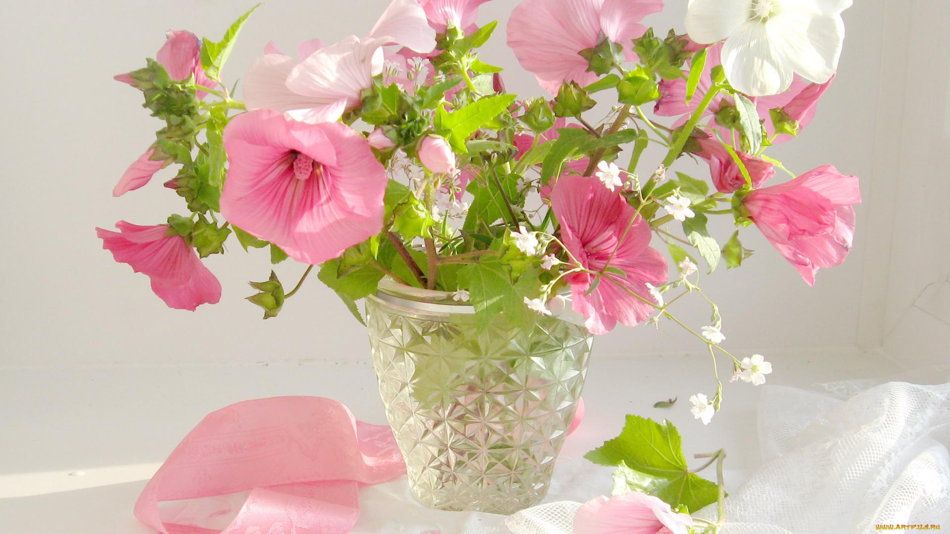 Смешными, цветы в вазе картинки открытки