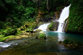 Картинка ys+falls++jamaica природа водопады река ямайка водопад