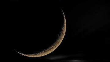 Картинка космос луна спутник ночь moon