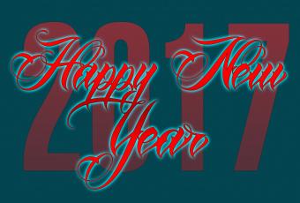 обоя праздничные, векторная графика , новый год, надпись