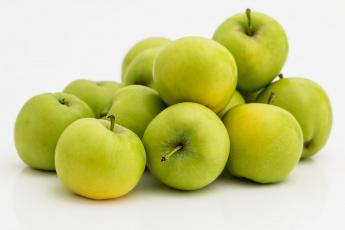 обоя еда, Яблоки, зеленые