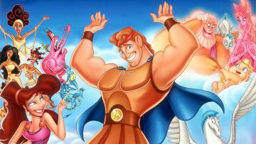 обоя мультфильмы, hercules, персонажи