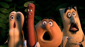 обоя sausage party, мультфильмы, персонажи