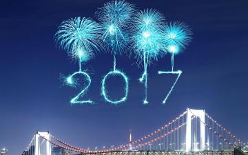 обоя праздничные, - разное , новый год, новый, год, 2017