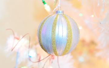 обоя праздничные, шары, серебристый, шарик, украшение