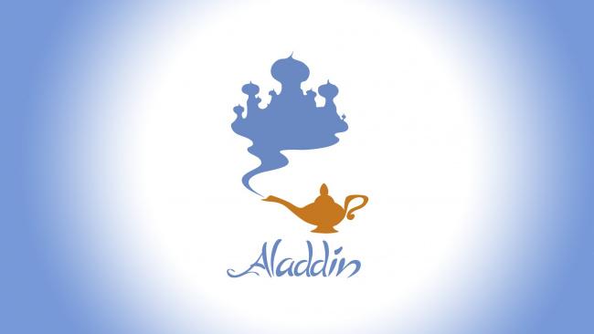 Обои картинки фото мультфильмы, aladdin, лампа