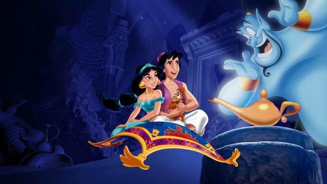 Обои картинки фото мультфильмы, aladdin, персонажи