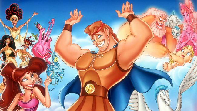 Обои картинки фото мультфильмы, hercules, персонажи