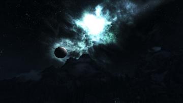 Картинка космос арт вселенная планета безконечность