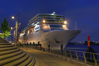 Картинка costa+romantica корабли лайнеры причал набережная швартовы судно