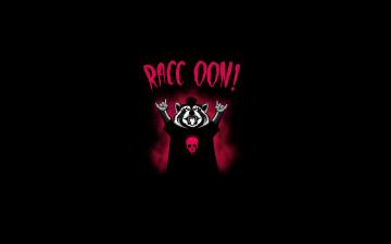 Картинка енот+хеви+метал рисованные минимализм heavy metal енот raccoon
