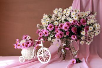 обоя цветы, композиция