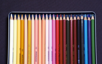 обоя разное, канцелярия,  книги, набор, карандаши, цветные