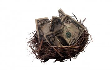обоя разное, золото,  купюры,  монеты, гнездо, банкноты, доллары