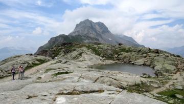 Картинка природа горы облака
