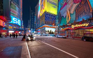 Картинка города нью йорк сша ночь нью-йорк