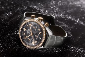 Картинка omega бренды золото стиль часы кожа