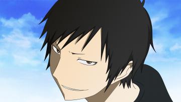 Картинка аниме durarara фон взгляд мальчик