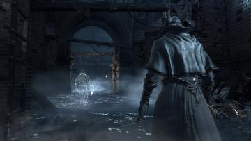 Картинка видео+игры bloodborne мужчина