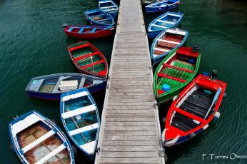 Картинка корабли моторные лодки вальдес испания астурия