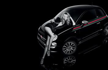 Картинка автомобили авто девушками