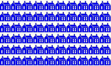 обоя векторная графика, город , city, домики