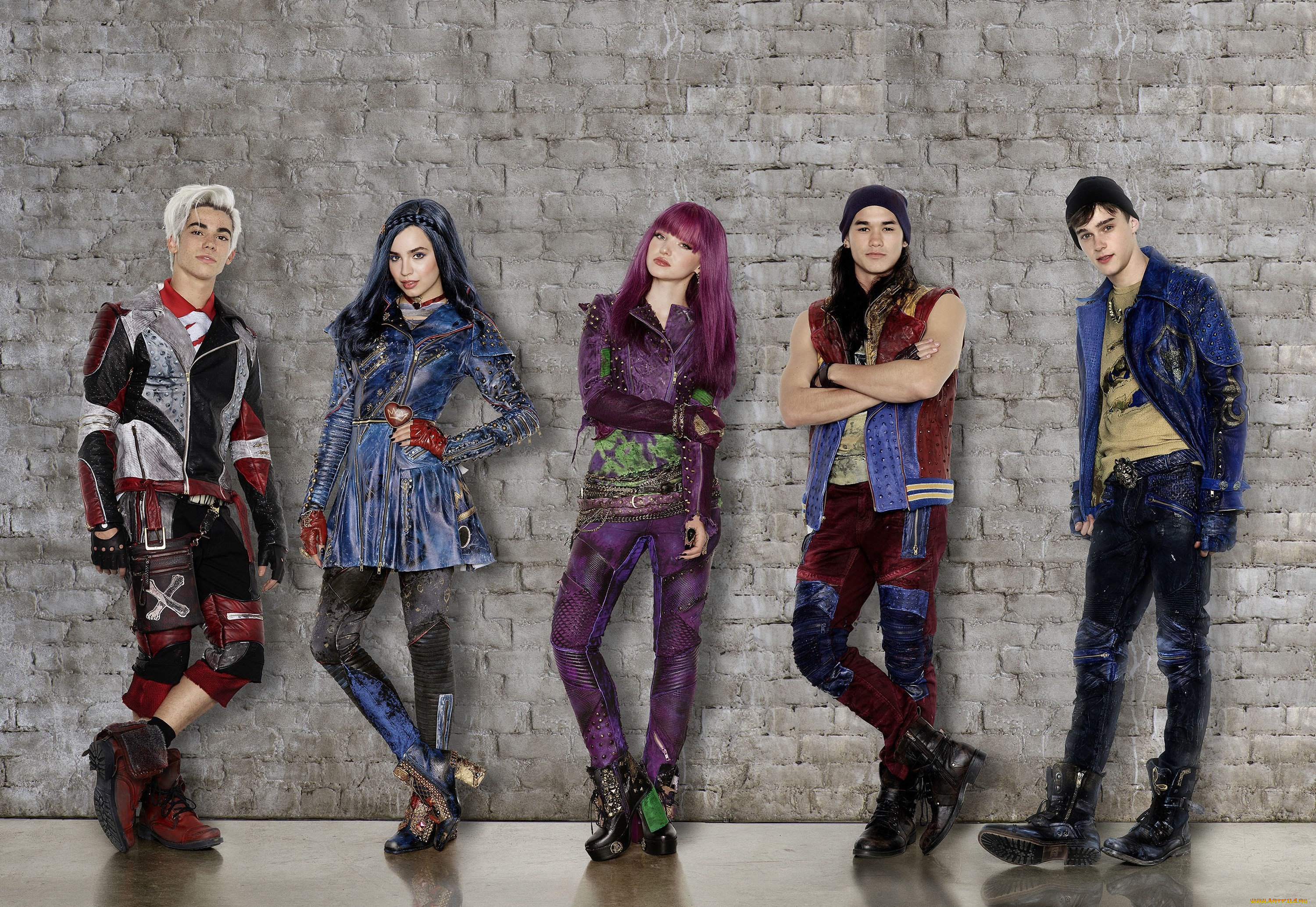 disney's descendants characters - HD 3000×2067