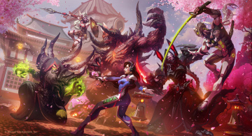 обоя видео игры, heroes of the storm, heroes, of, the, storm, action, онлайн, ролевая