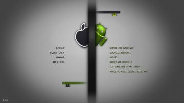 Картинка компьютеры android логотип фон