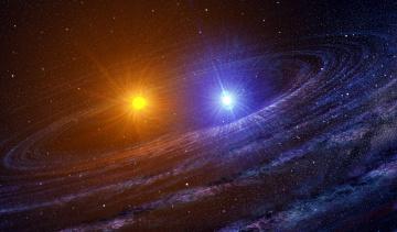 обоя космос, арт, вселенная, звезды