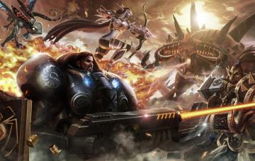 обоя видео игры, heroes of the storm, action, heroes, of, the, storm, онлайн, ролевая