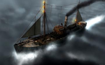Картинка корабли 3d