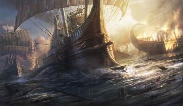 Картинка видео+игры total+war +rome+ii rome 2 total war игра стратегия воины сражение корабли