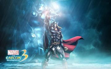 Картинка видео+игры marvel+vs +capcom+3 +fate+of+two+worlds thor