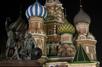 обоя города, москва , россия, храм
