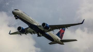 обоя boeing 757, авиация, пассажирские самолёты, авиалайнер