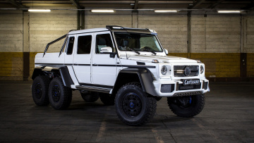 обоя carlsson cg63 6x6 based on mercedes-benz g63 6x6 amg 2015, автомобили, mercedes-benz, carlsson, 6x6, amg, 2015, g63, based, cg63