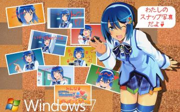 обоя компьютеры, windows 7 , vienna, windows7