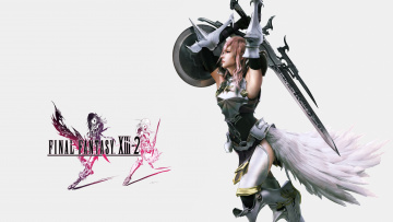 Картинка видео+игры final+fantasy+xiii-2 lightning final fantasy xiii-2 sword armor