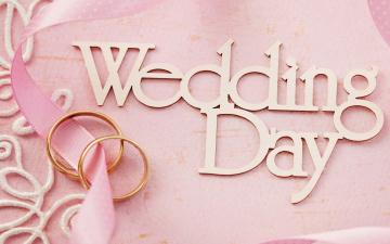 обоя праздничные, другое, цветы, ring, background, flowers, кольца, lace, soft, pink, day, wedding, свадьба