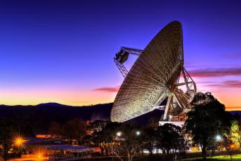обоя космос, разное, другое, радиотелескоп