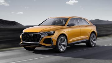 Картинка audi+q8+sport+concept+2018 автомобили audi sport q8 2018 concept