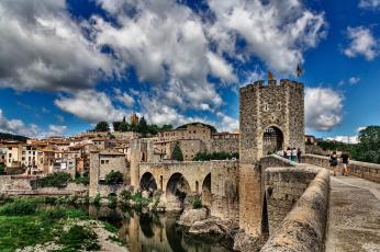обоя города, - дворцы,  замки,  крепости, фортпост