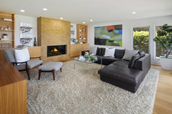 обоя интерьер, гостиная, дизайн, мебель, стиль