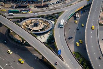 Картинка разное транспортные средства магистрали китай Чунцин путепровод